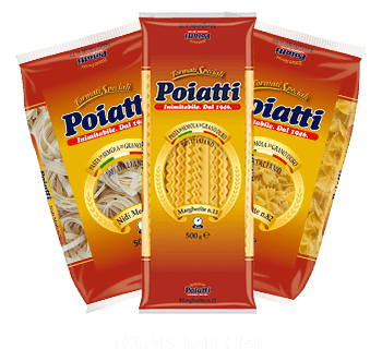 , Pasta Poiatti - Pasta Italiana 100% di grano siciliano