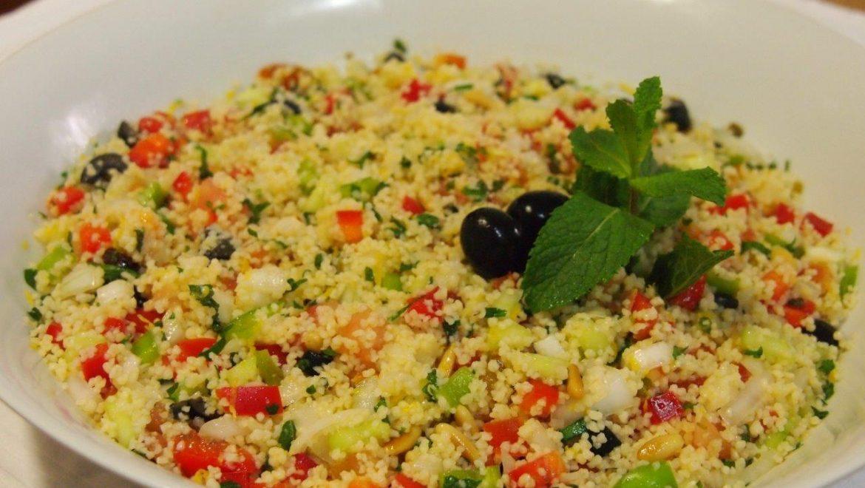 Tabulè alle Verdure Fresche